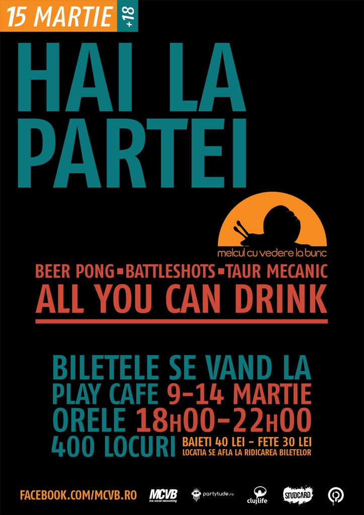 All you can drink party