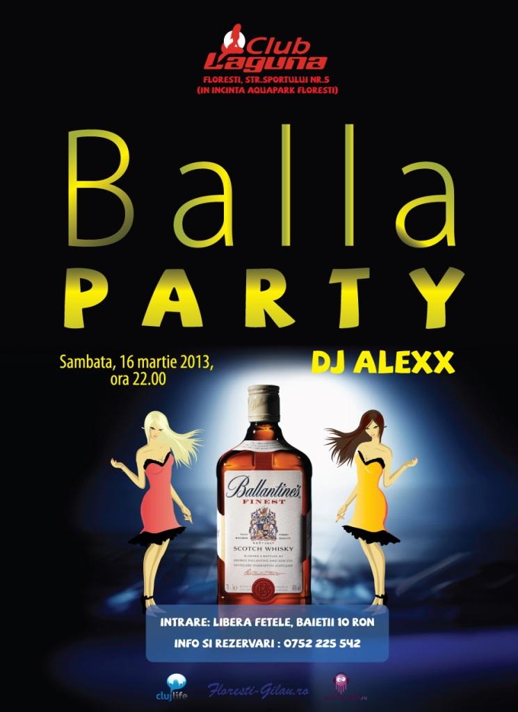 Balla Party @ Club Laguna