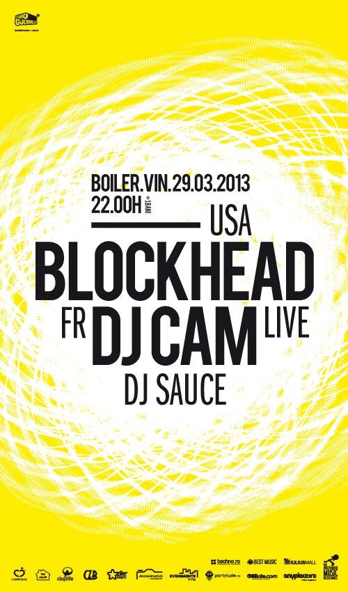 Blockhead vs DJ Cam @ Boiler Club