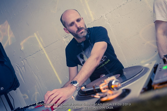 Poze: Blockhead & DJ Cam @ Boiler Club