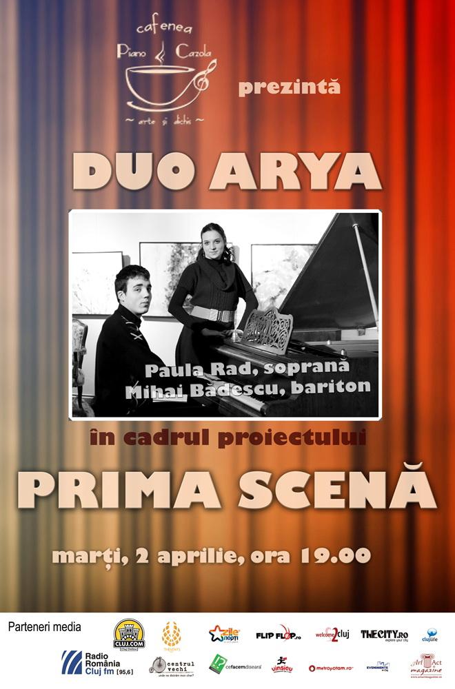 Duo Arya @ Piano Cazola