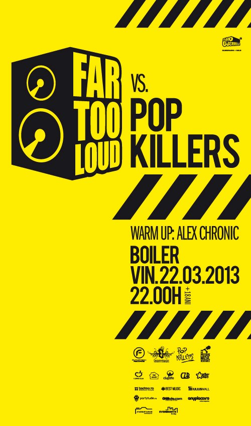 Far Too Loud vs Pop Killers @ Boiler Club