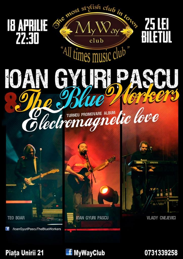 Ioan Gyuri Pascu @ Club My Way