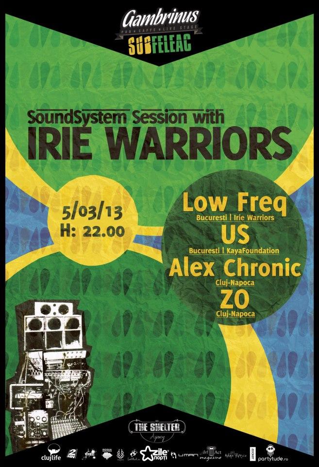Irie Warriors @ Gambrinus Pub