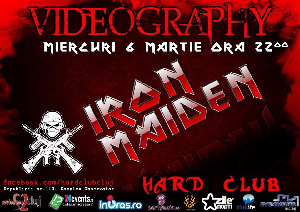 Iron Maiden Videography @ Hard Club