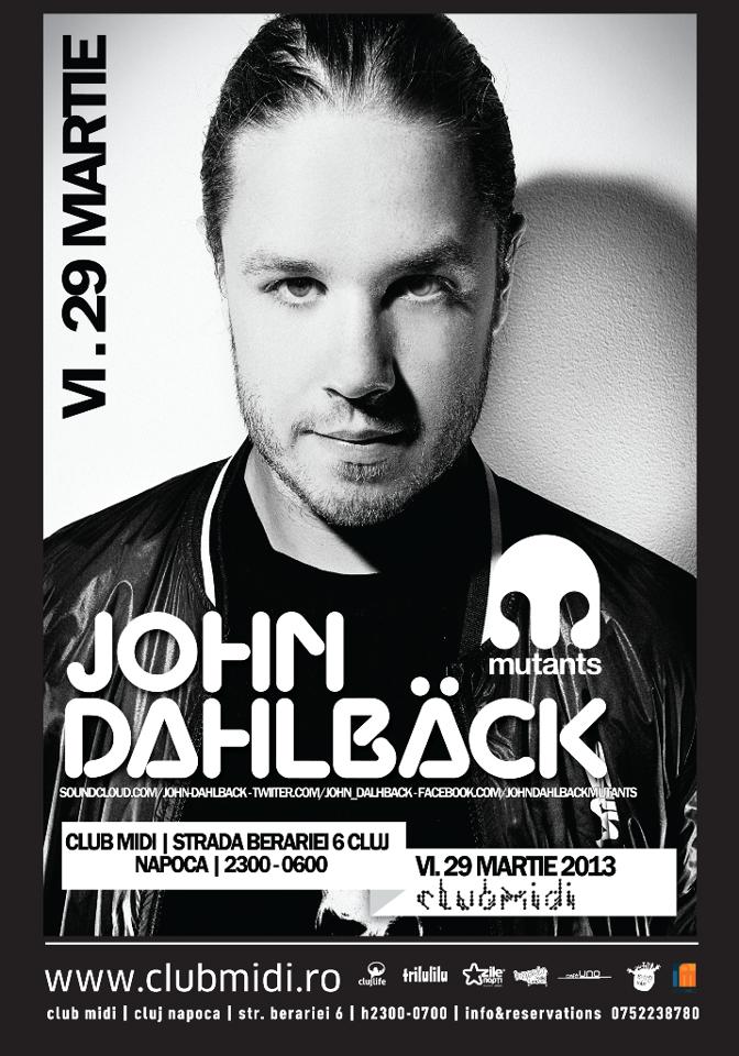 John Dahlback @ Club Midi