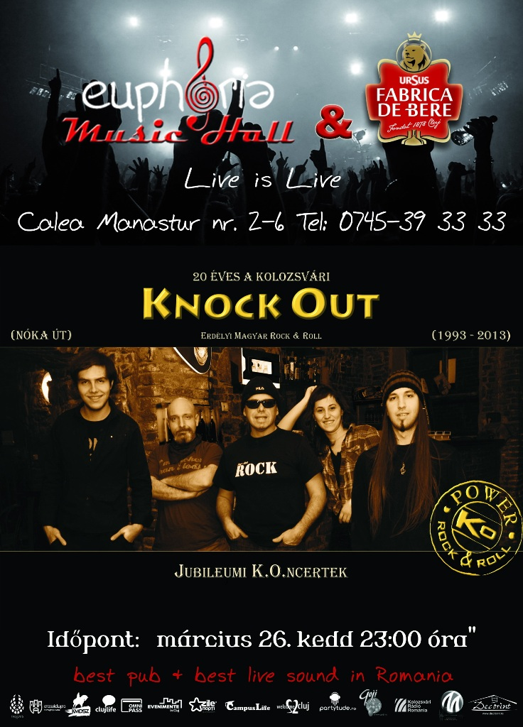 Knock Out @ Euphoria Music Hall