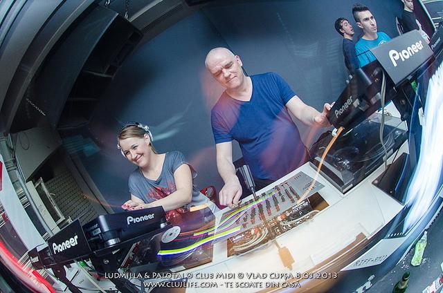 Poze: Ludmilla & Palotai @ Club Midi