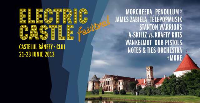 Morcheeba, Stanton Warriors și Orchestra Notes&Ties vin la Electric Castle