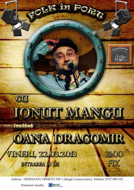 "Oana Dragomir @ Ceainaria ""La Port"""