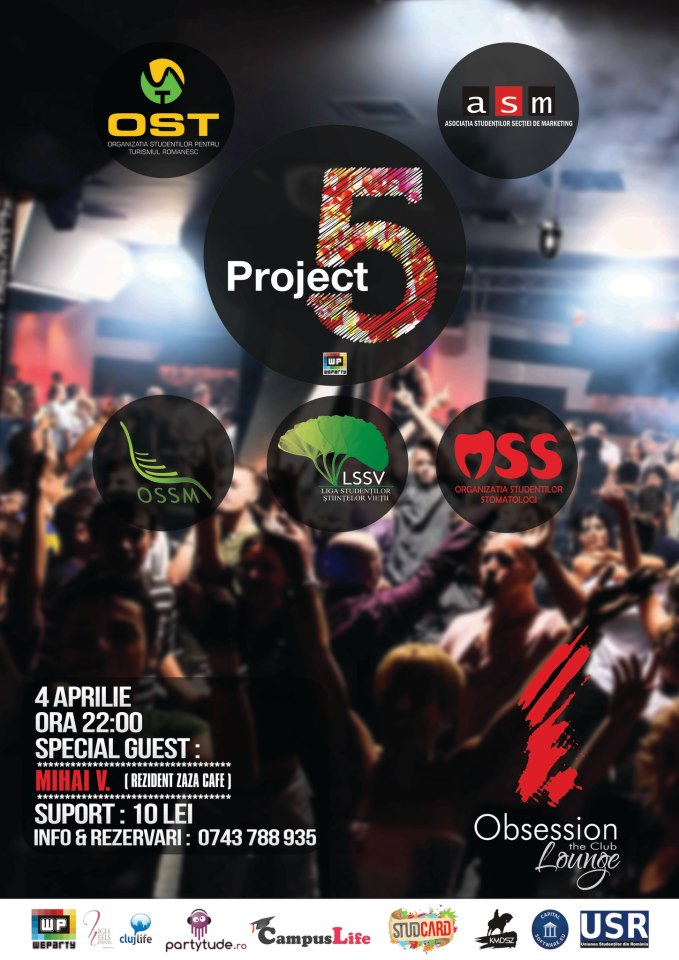 Project 5 @ Obsession's Lounge