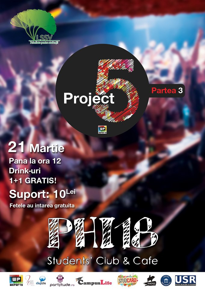 Project 5 – part #3 @ Club Phi18