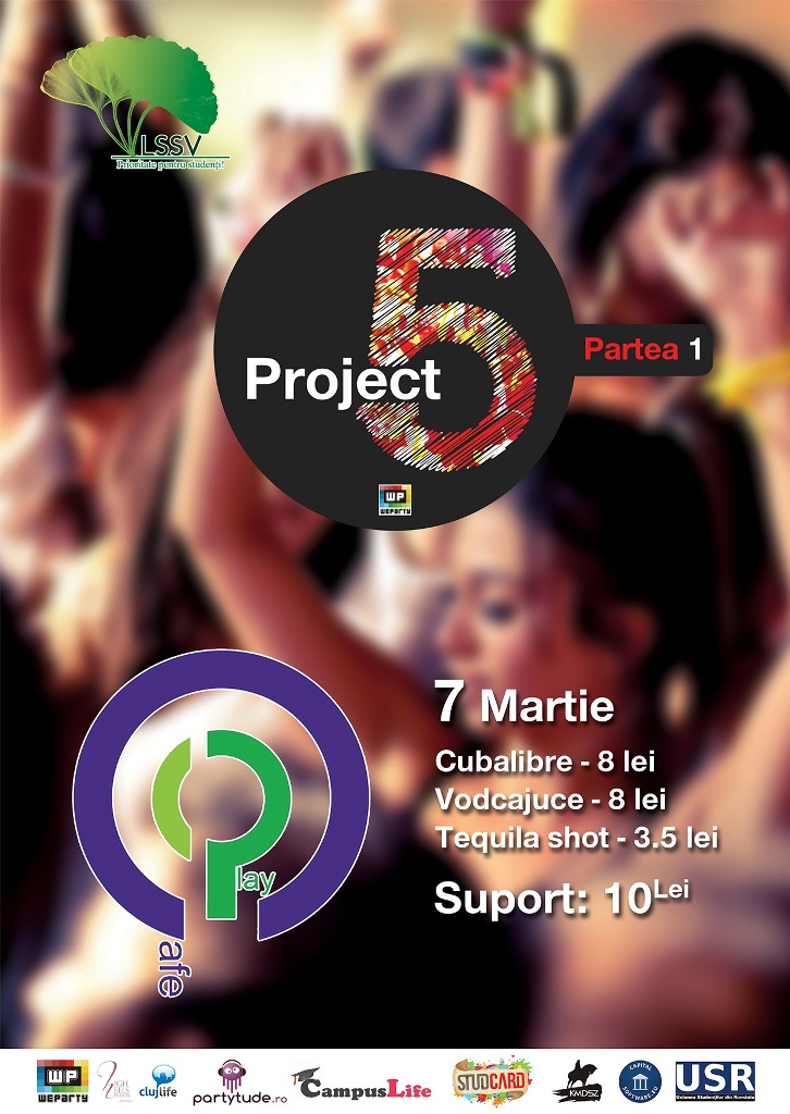 Project 5 Party @ Play Cafe