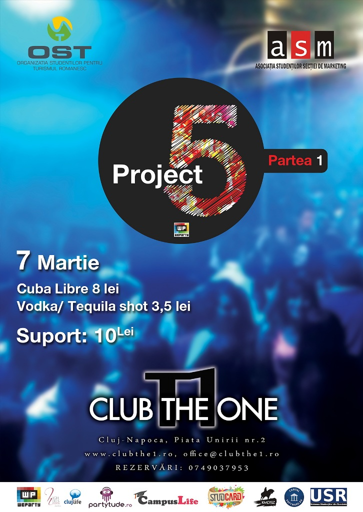 Project 5 Party @ Club The One