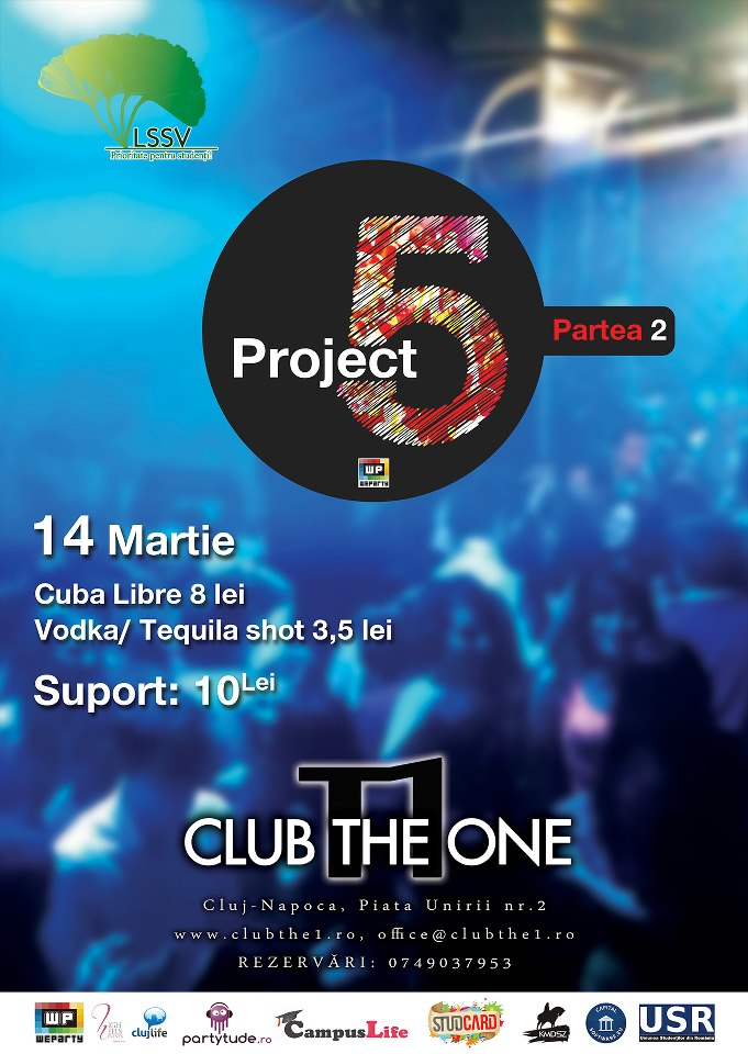 Project 5 – part #2 @ Club The One