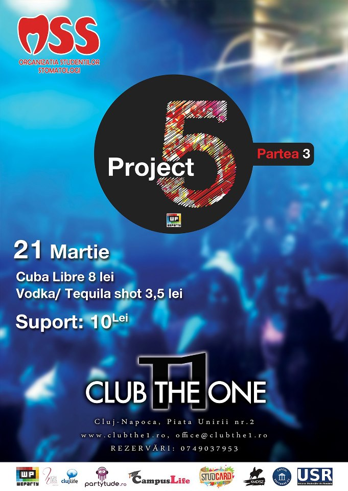 Project 5 – part #3 @ Club The One