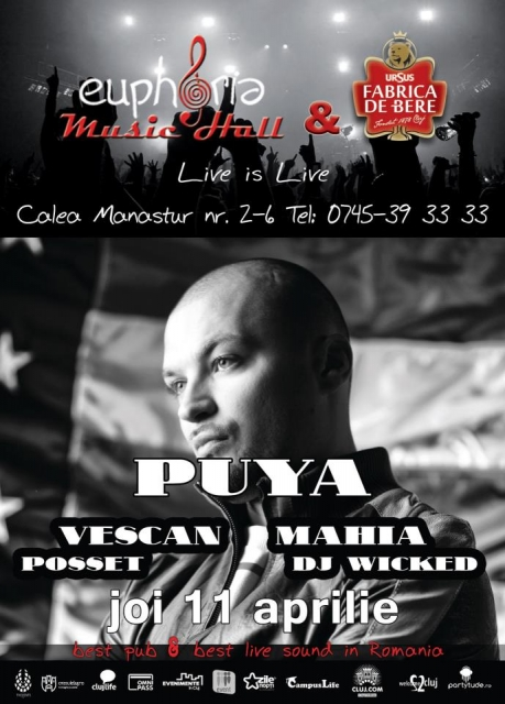 Puya @ Euphoria Music Hall