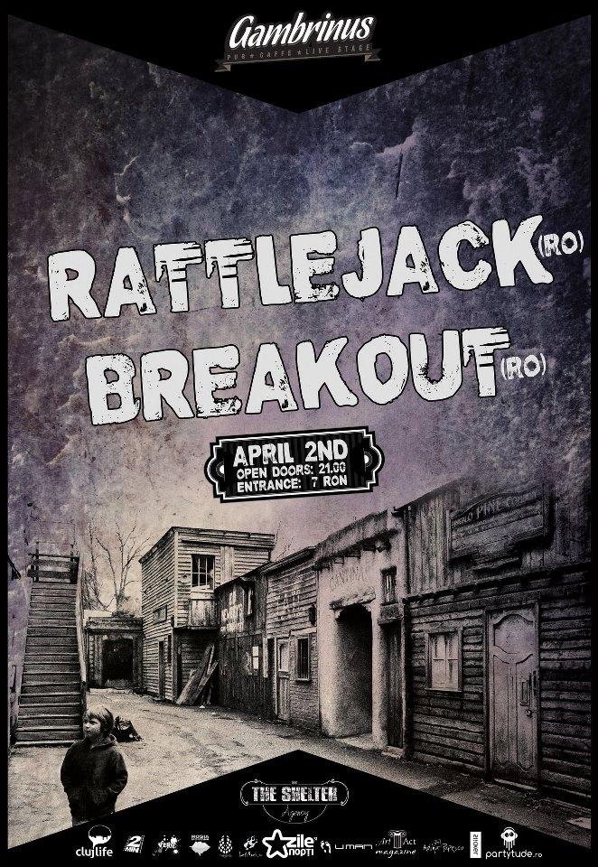 Rattlejack / Breakout @ Gambrinus Pub