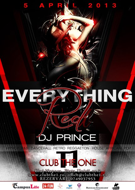 Everything Red @ Club The One