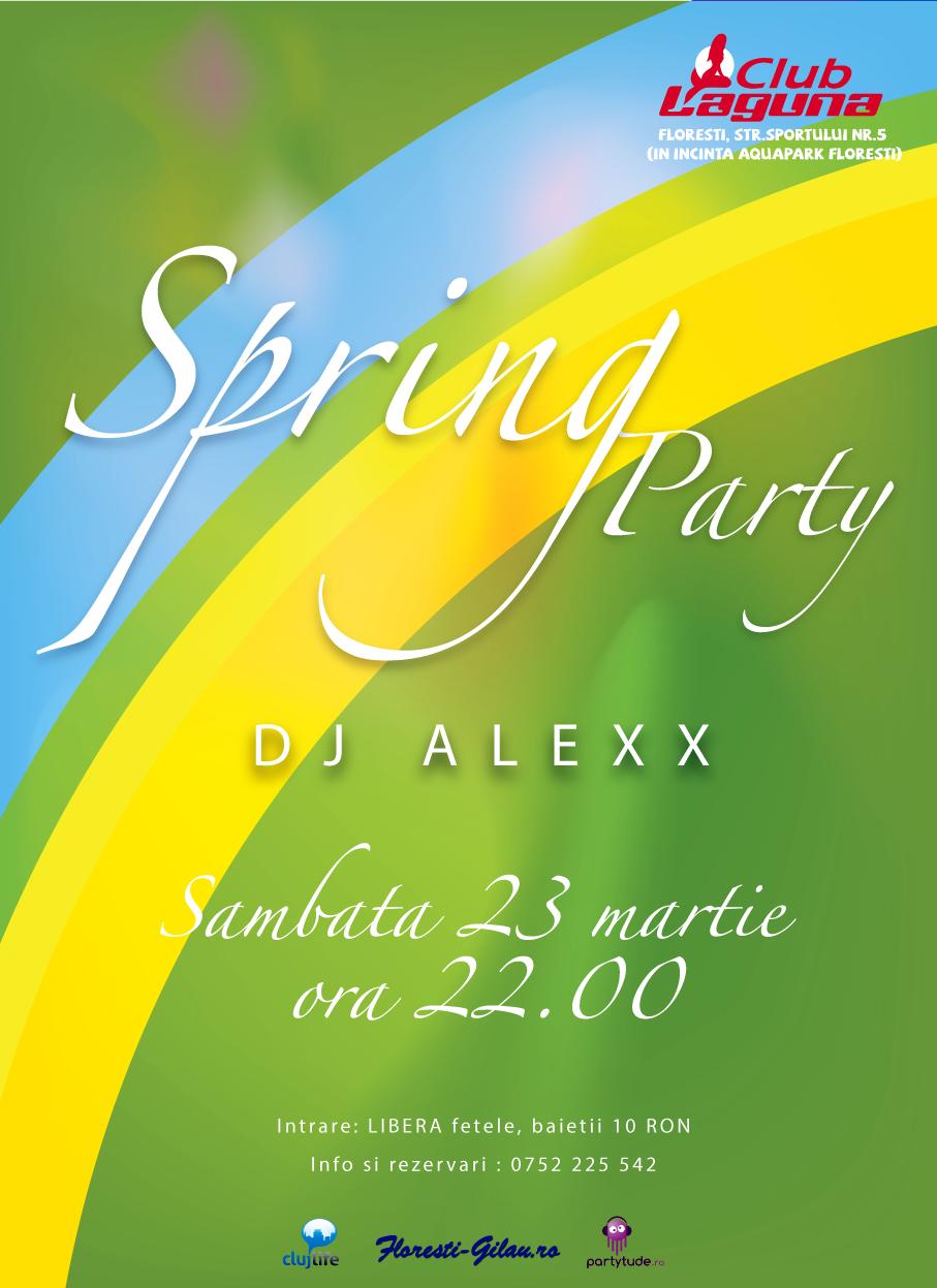 Spring Party @ Club Laguna