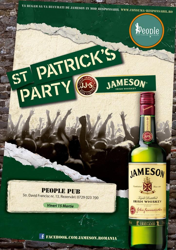 St Patrick's Party @ People Pub