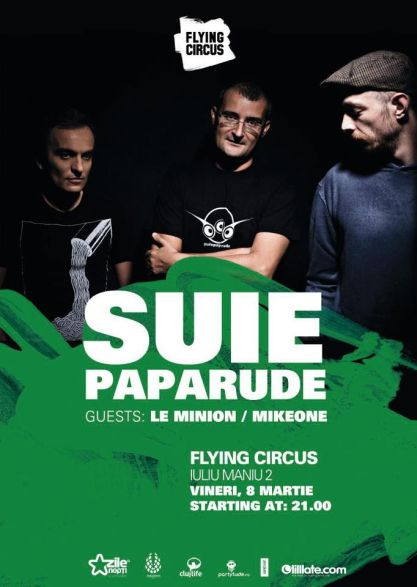 Suie Paparude @ Flying Circus Pub