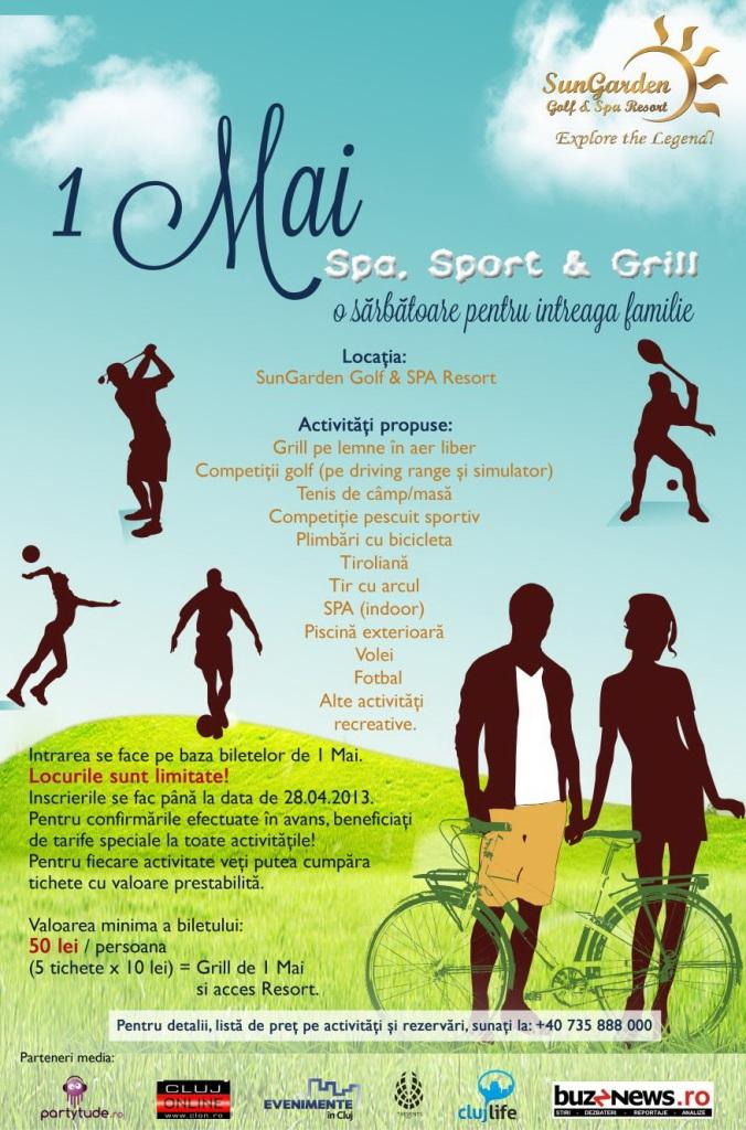 1 Mai SPA, Sport & Grill @ SunGarden Resort