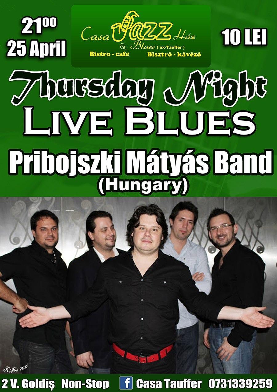 Pribojszki Matyas Band @ Casa Tauffer