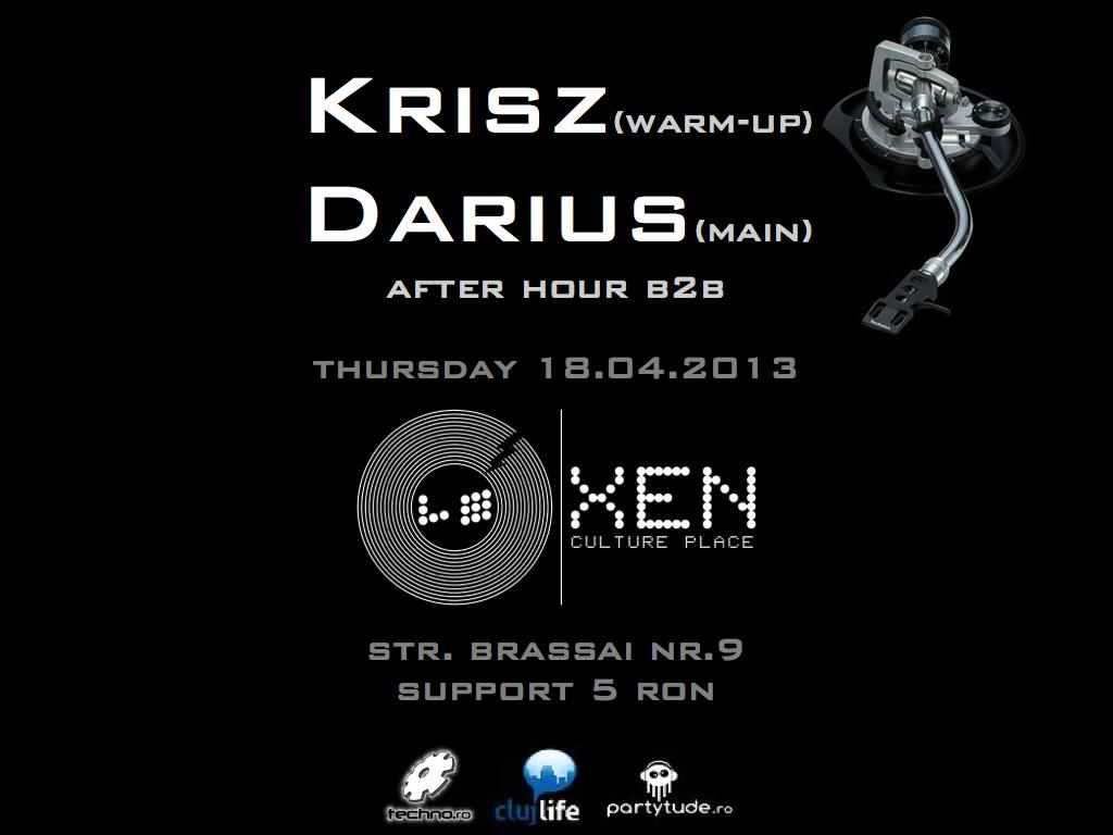Krisz & Darius @ Club Xen