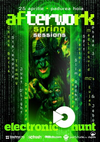 Afterwork Spring Sessions @ Pădurea Hoia