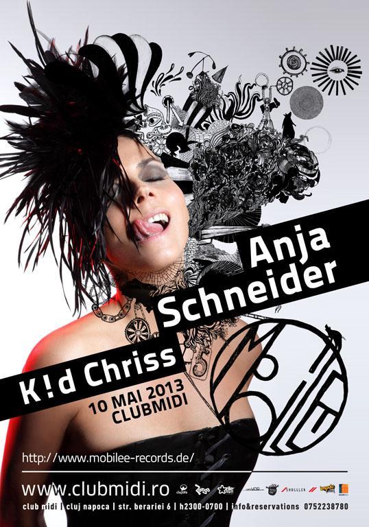 Anja Schneider @ Club Midi