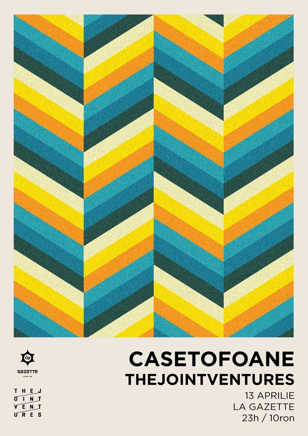Casetofoane / TheJointVentures @ La Gazette