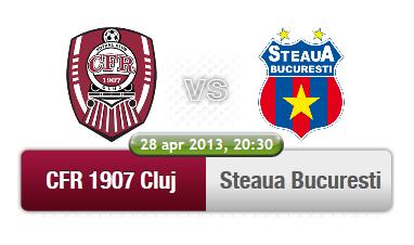 CFR Cluj – Steaua Bucuresti