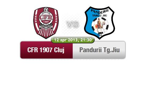 CFR Cluj – Pandurii Tg. Jiu