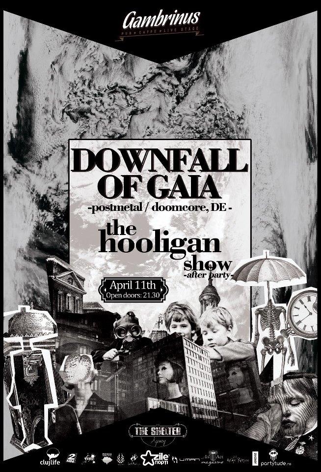 Downfall of Gaia @ Gambrinus Pub