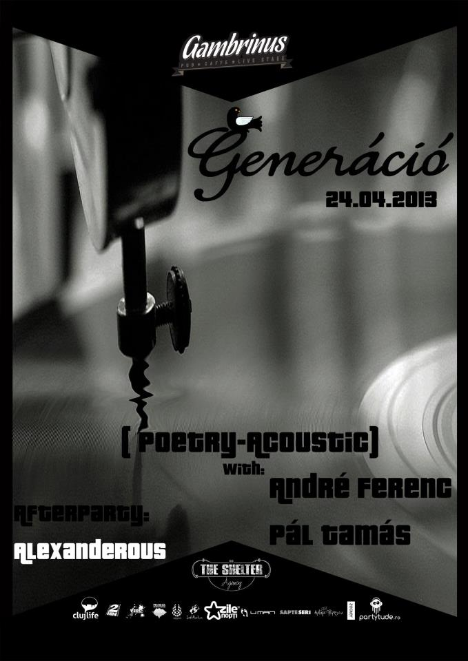 Poetry – Acoustic @ Gambrinus Pub