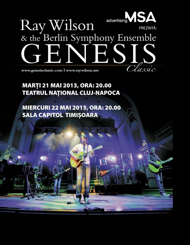 "Genesis Classic @ Teatrul National ""Lucian Blaga"""