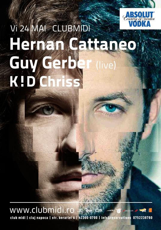 Hernan Cattaneo & Guy Gerber @ Club Midi