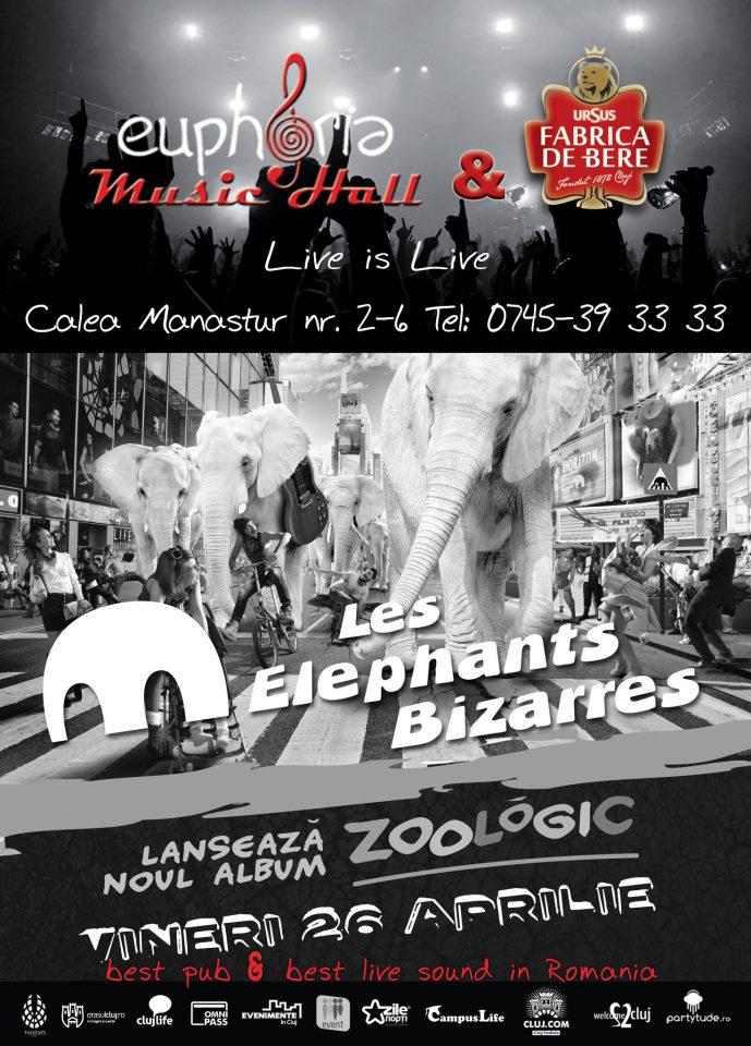 Les Elephants Bizarres @ Euphoria Music Hall
