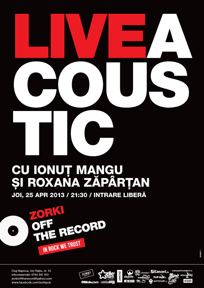 Live Acoustic @ Zorki Off the Record