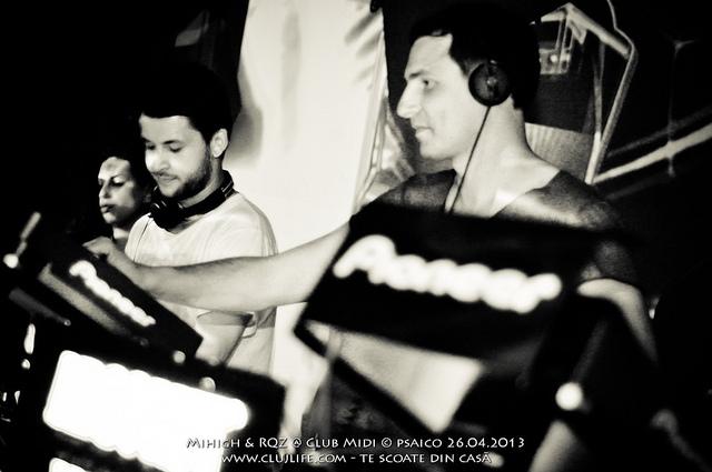 Poze: Mihigh & RQZ @ Club Midi