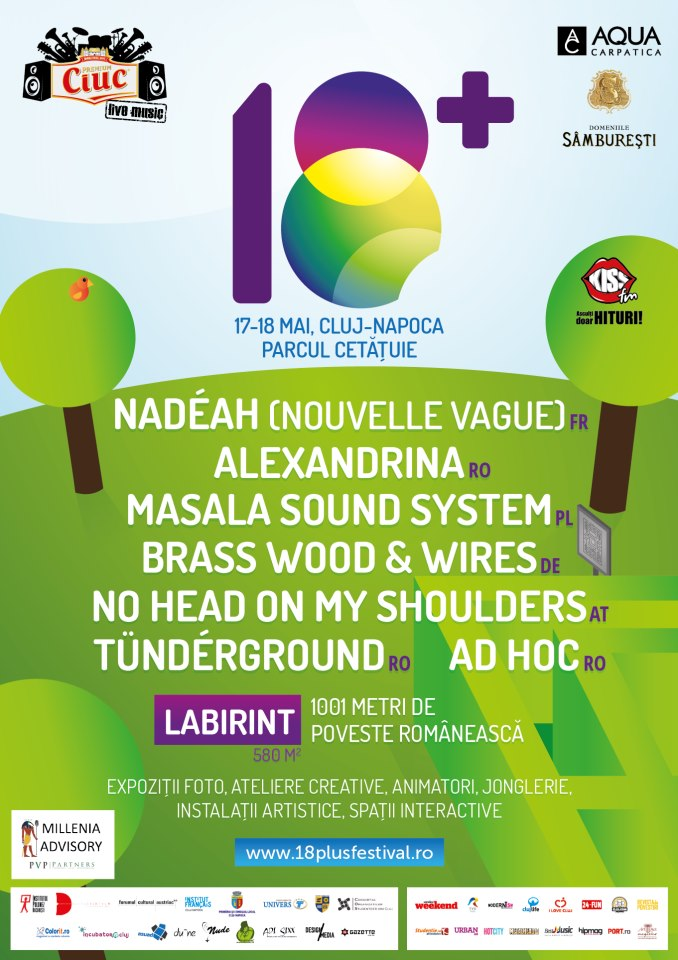 18+ Festival @ Dealul Cetăţuii