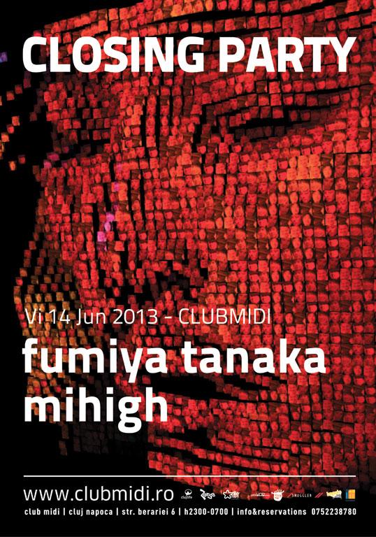 Closing Party: Fumiya Tanaka @ Club Midi