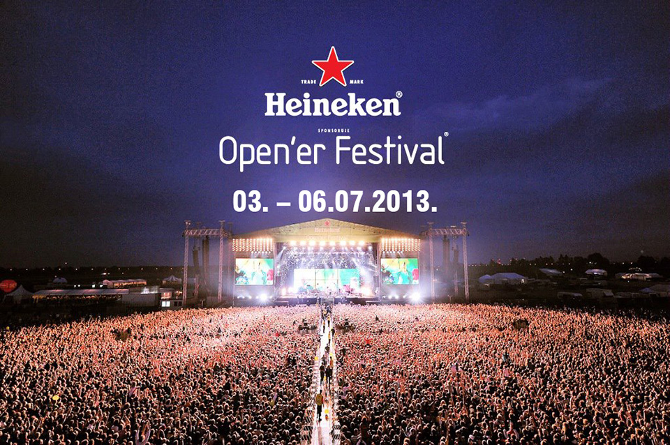 Heineken Open'er @ Gdynia, Polonia