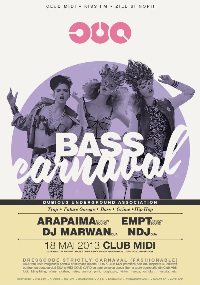 DUA Bass Carnaval @ Club Midi