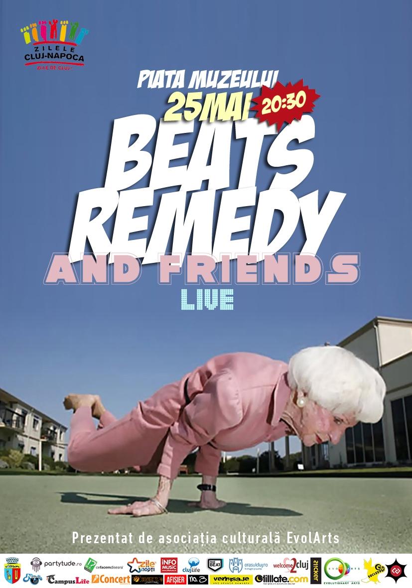 Beats Remedy & Friends @ Piata Muzeului