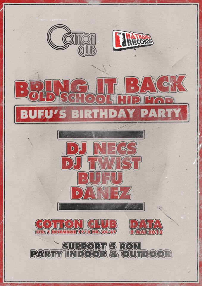 Bring it back hip hop III @ Cotton Club