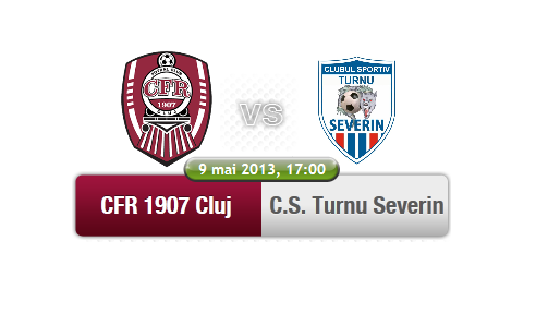 CFR Cluj – CS Turnu Severin