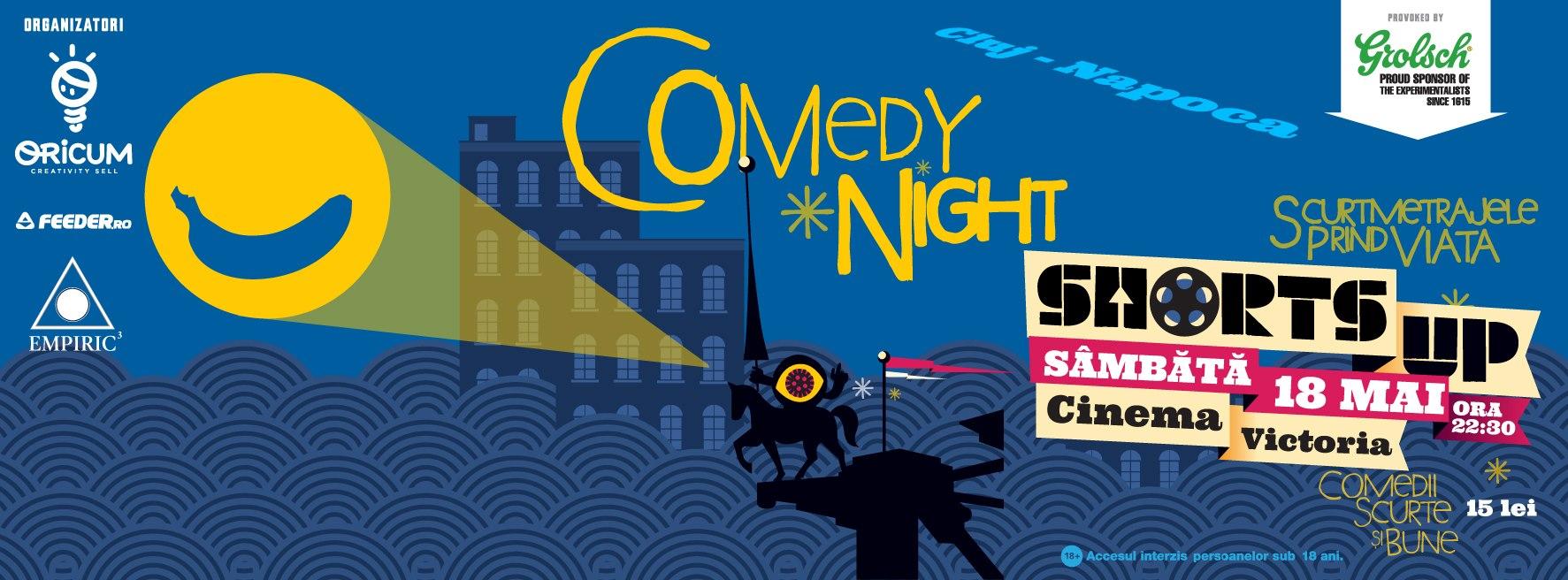ShortsUp Comedy Night @ Cinema Victoria