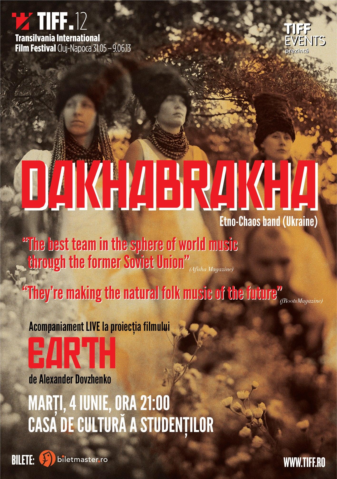 Proiecție specială Earth / Pământ @ Casa de Cultura a Studentilor